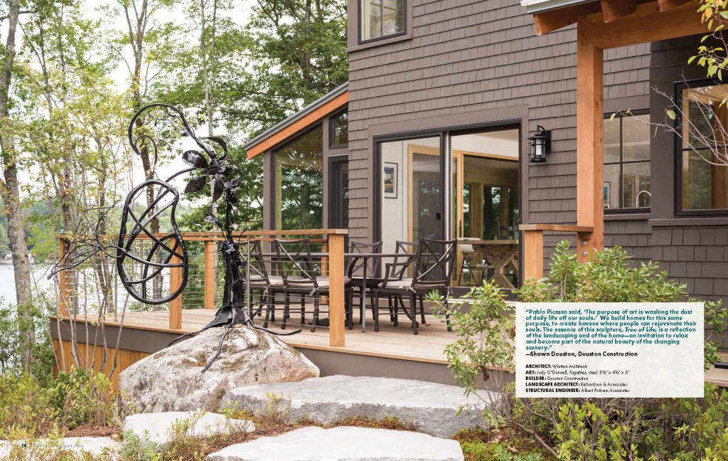 Media Custom Home Construction In Southern Maine