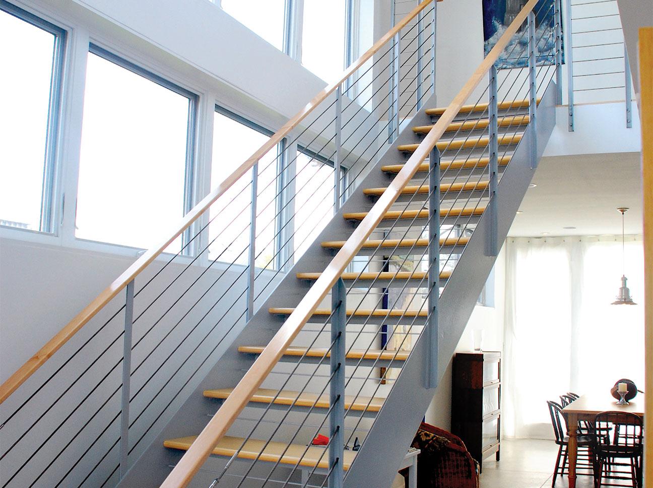 Douston-Millwork-Modern Staircase