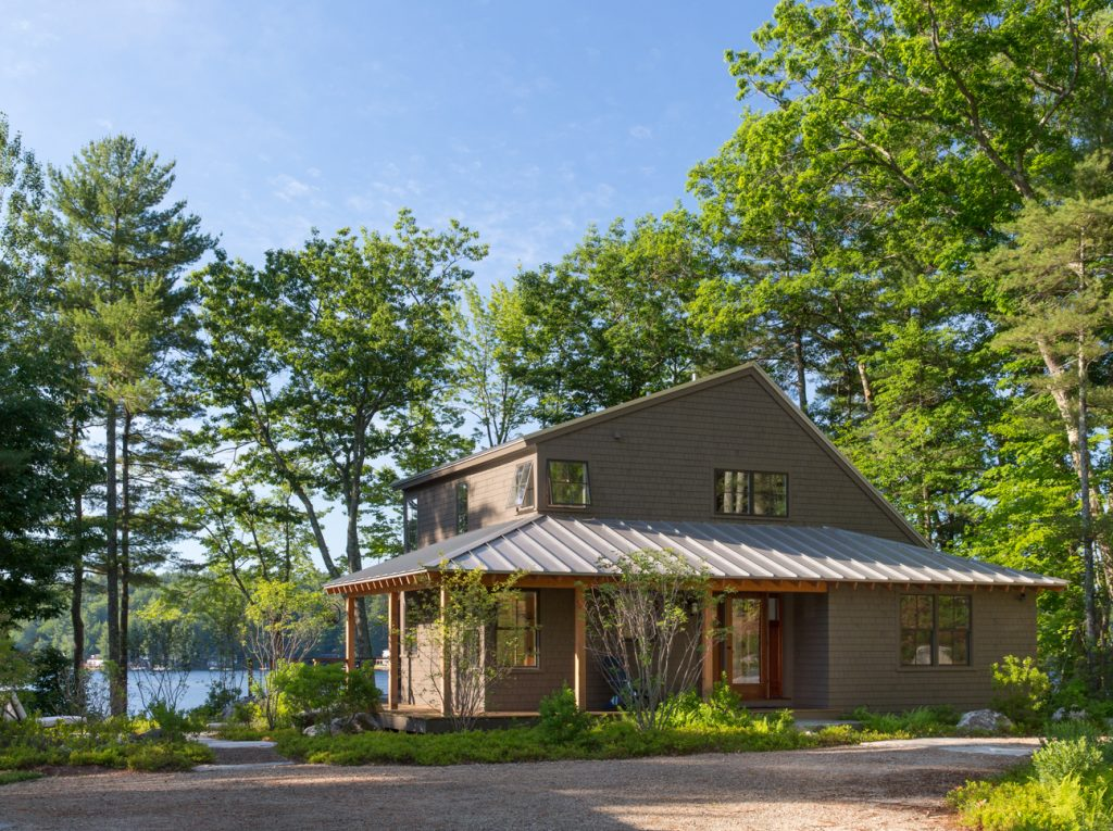 Great East Lake Camp Exterior