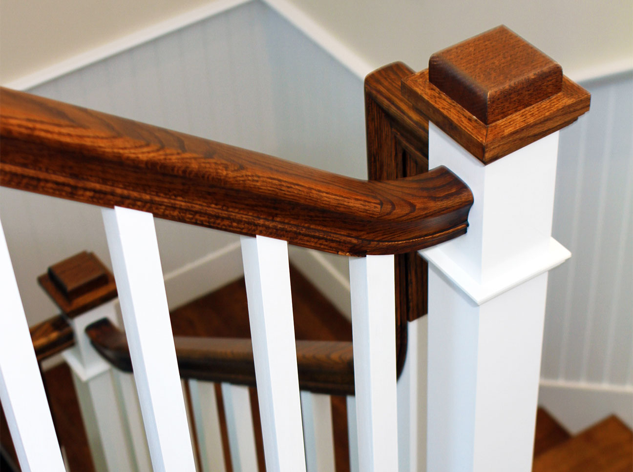 Douston-Millwork-Banister Detail