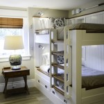 Bunkroom at Pine Point, Custom Home Construction in Southern Maine