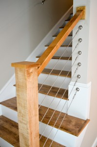 Lexington Condos Staircase Finishes