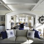 Living to Diningroom at Pine Point, Custom Home Construction in Southern Maine