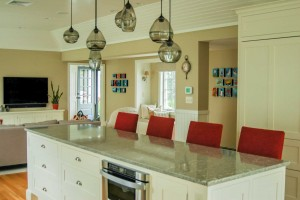 Clubhouse Kitchen, Custom Home Construction in Southern Maine