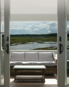 Doorway at Granite Point, Custom Home Construction in Southern Maine