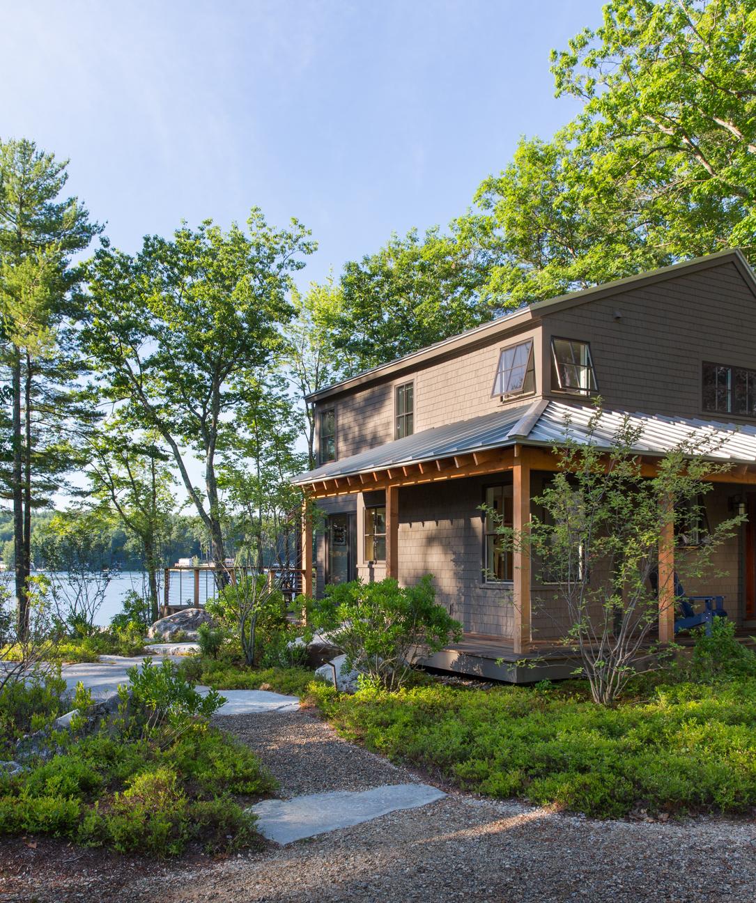 Great East Lake Camp Exterior Walkway