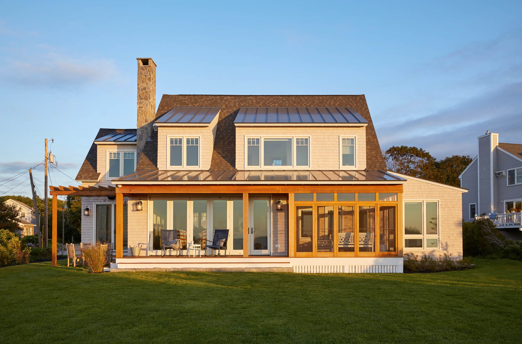 Beachside Lawn, Custom Home Construction in Southern Maine