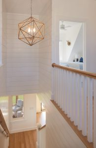 Stair and Entry, Custom Home Construction in Southern Maine