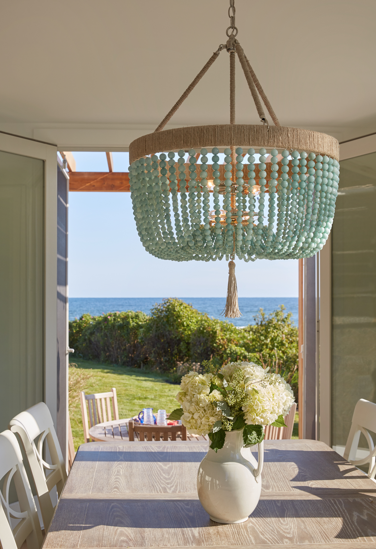 Dining, Custom Home Construction in Southern Maine