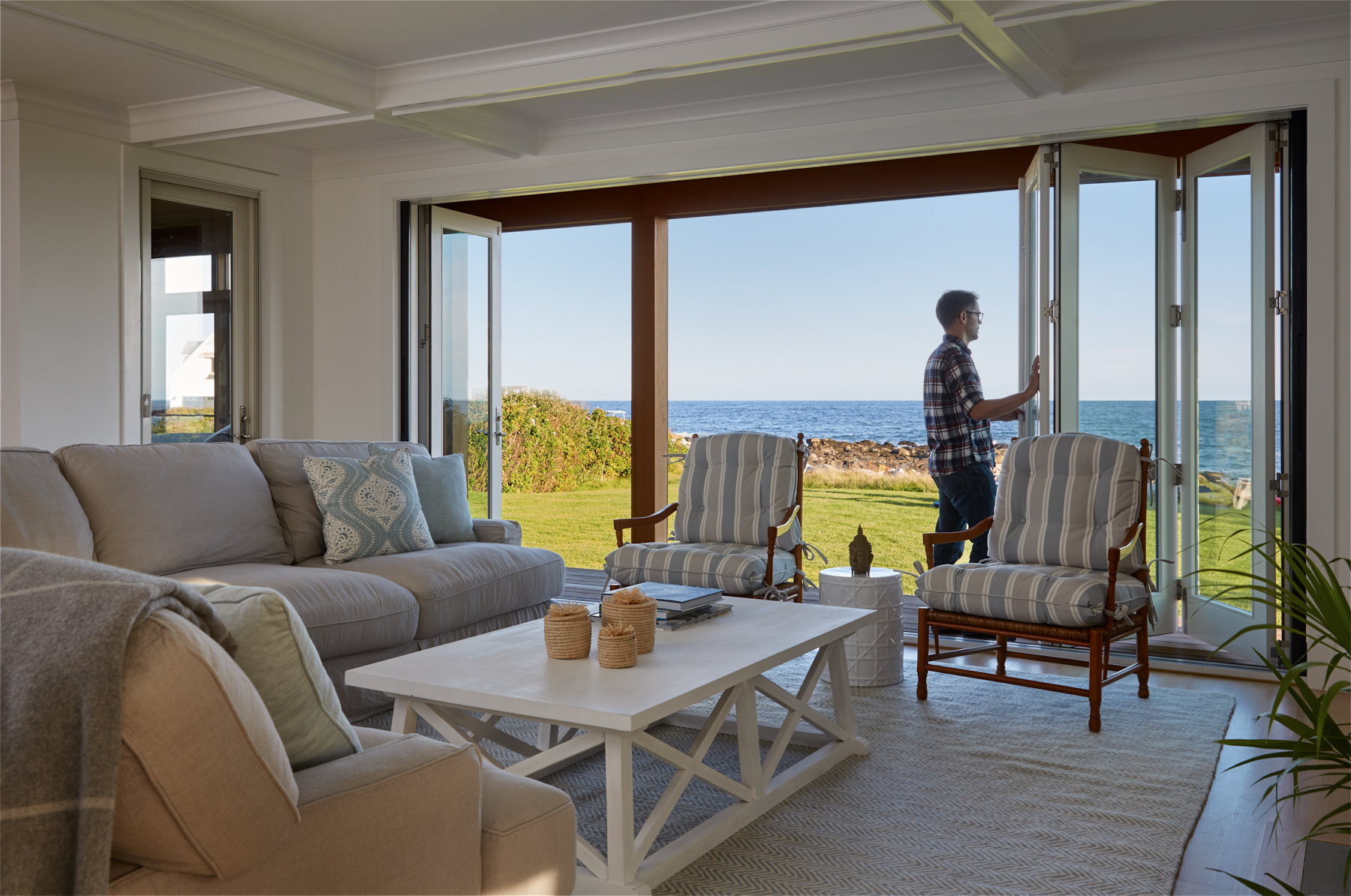 Living, Custom Home Construction in Southern Maine