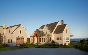 Exterior, Custom Home Construction in Southern Maine