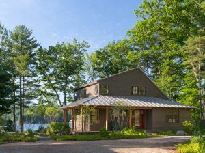 Wraparound Porch, Custom Home Construction in Southern Maine