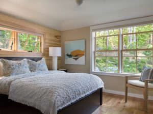 Master Bedroom, Custom Home Construction in Southern Maine