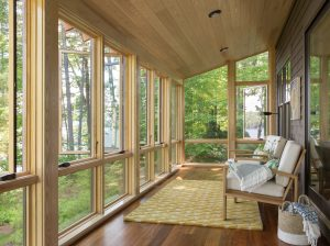 Sunporch, Custom Home Construction in Southern Maine